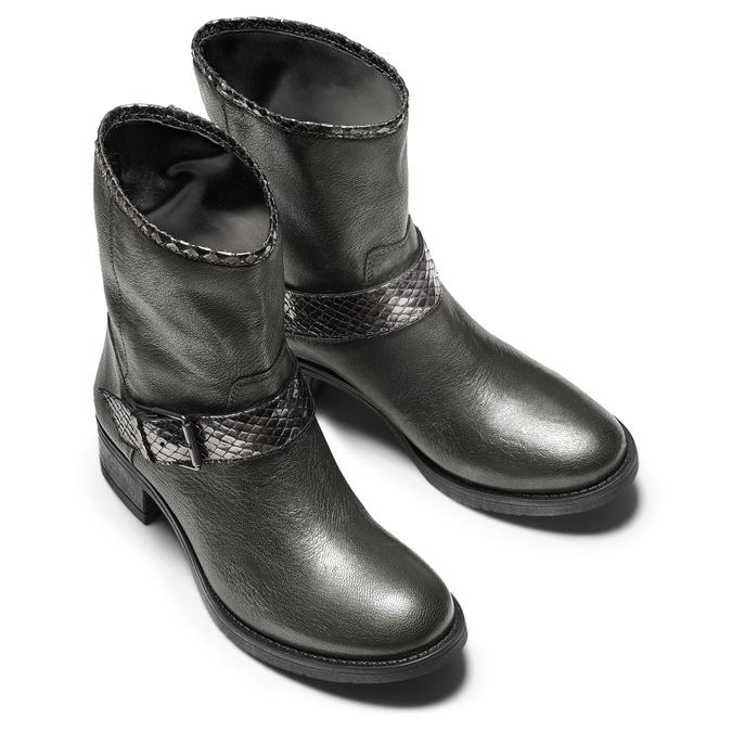 BATA Chaussures Femme bata, Gris, 694-2420 - 15