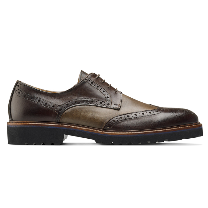 Men's shoes bata-the-shoemaker, Brun, 824-4186 - 26