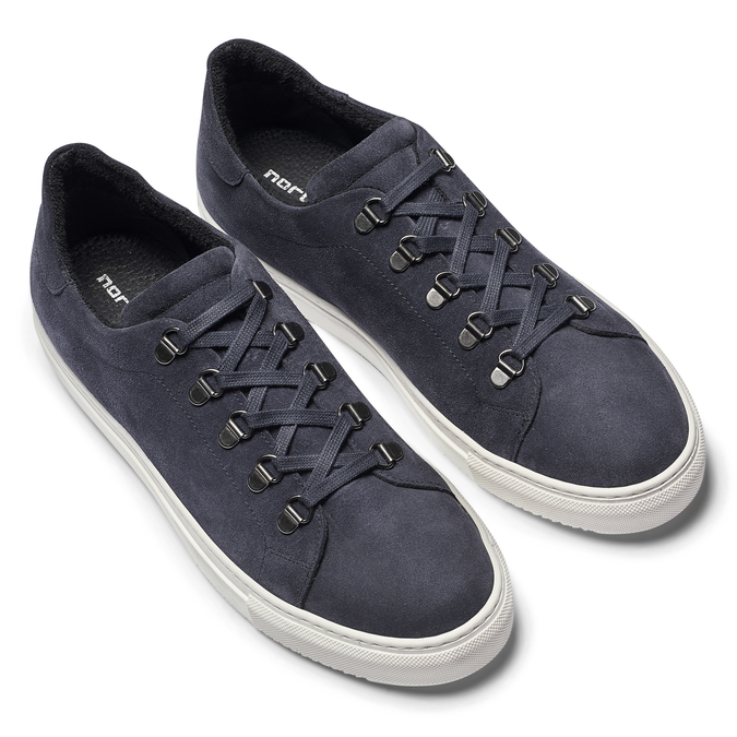 Men's shoes north-star, Bleu, 843-9736 - 19