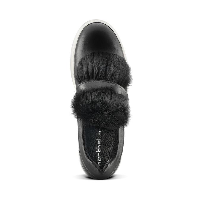 Women's shoes north-star, Noir, 544-6114 - 15
