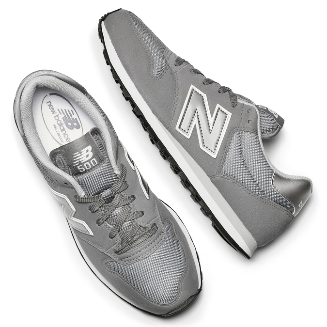 Childrens shoes new-balance, Gris, 809-2400 - 19