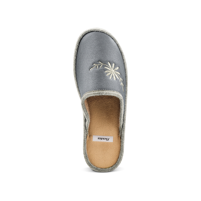 Women's shoes bata, Gris, 579-2280 - 17