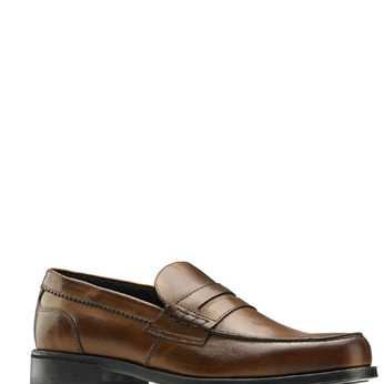 Men's shoes bata, Brun, 814-3175 - 13