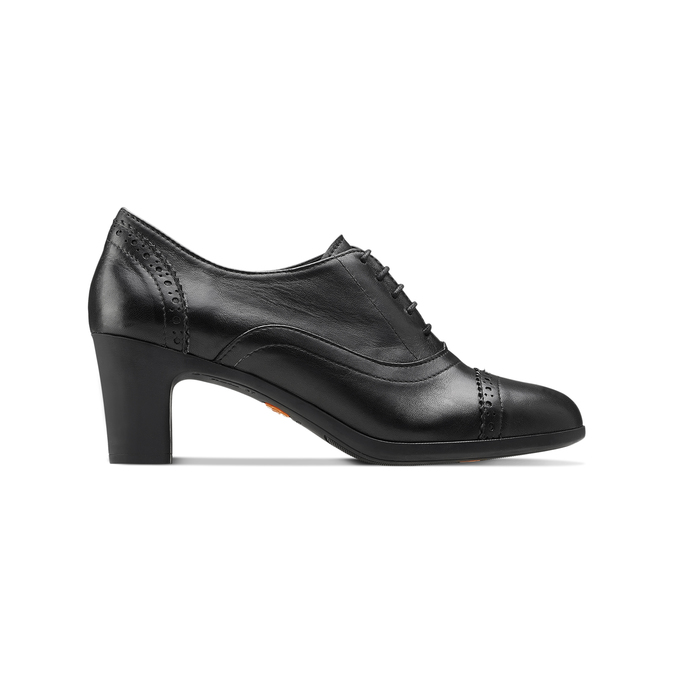 Women's shoes flexible, Noir, 624-6252 - 26