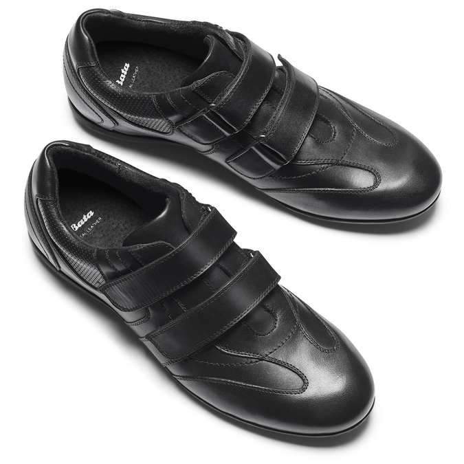 Men's shoes bata, Noir, 844-6729 - 19