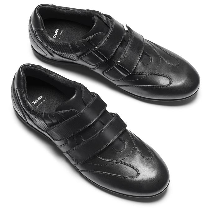 BATA Chaussures Homme bata, Noir, 844-6729 - 19