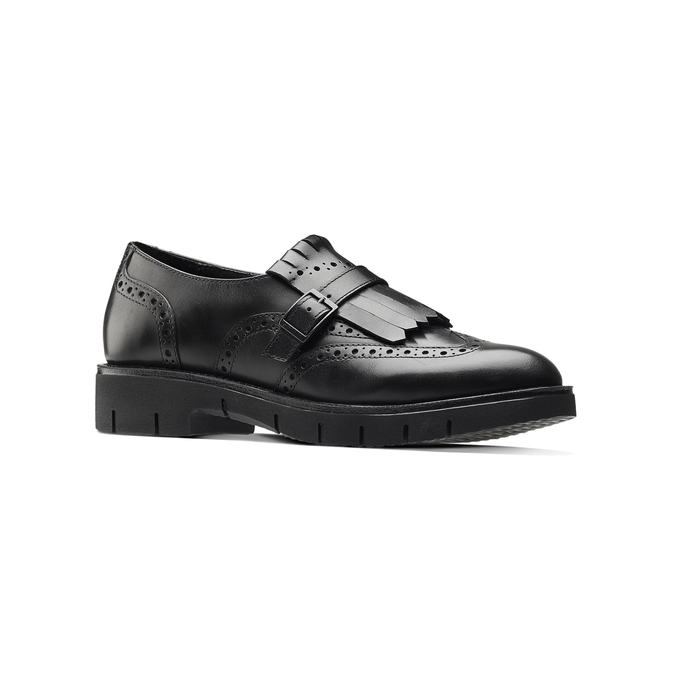 Women's shoes bata, Noir, 514-6395 - 13