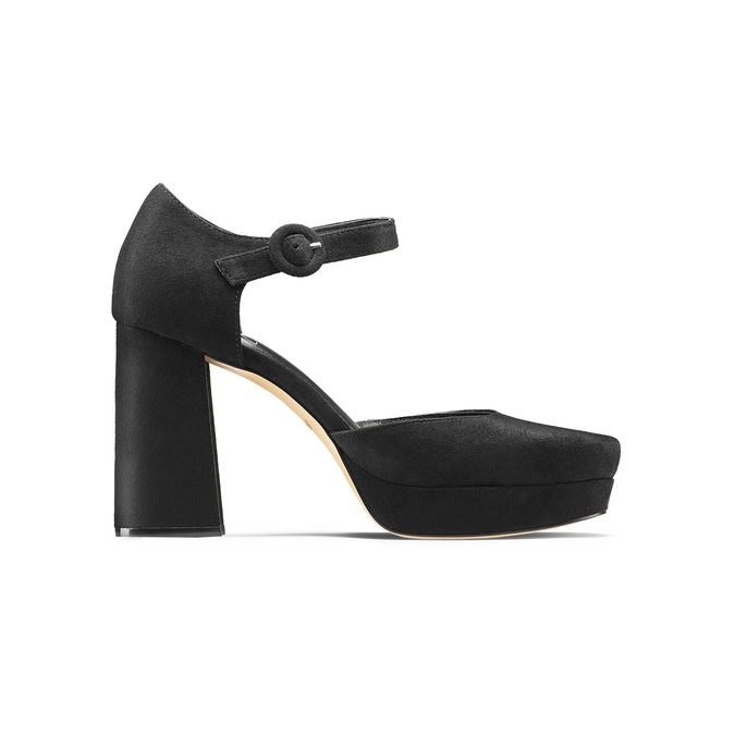 Women's shoes insolia, Noir, 729-6971 - 26