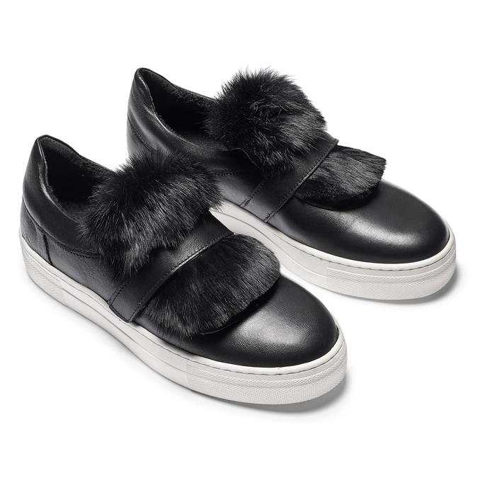 Women's shoes north-star, Noir, 544-6114 - 19