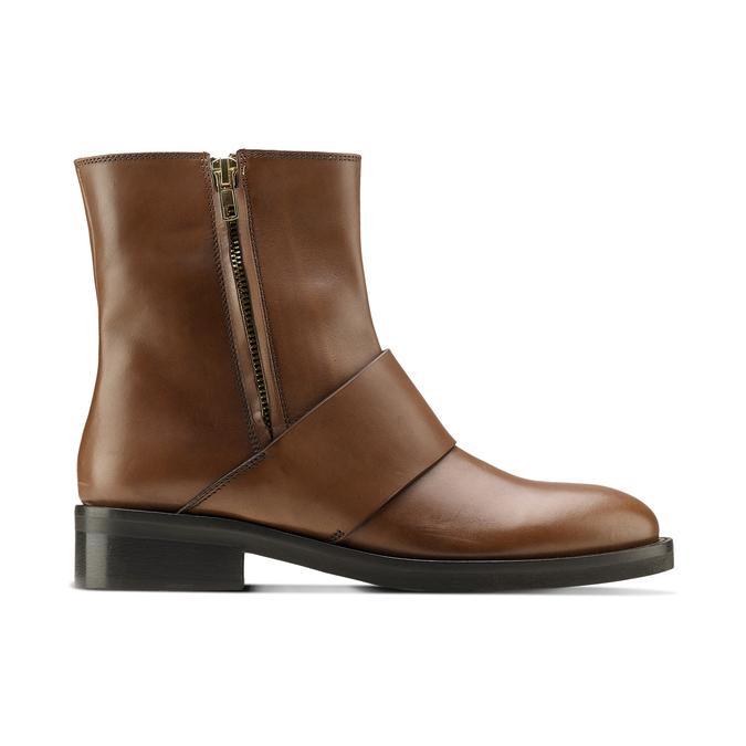 Women's shoes bata, Brun, 594-3330 - 26