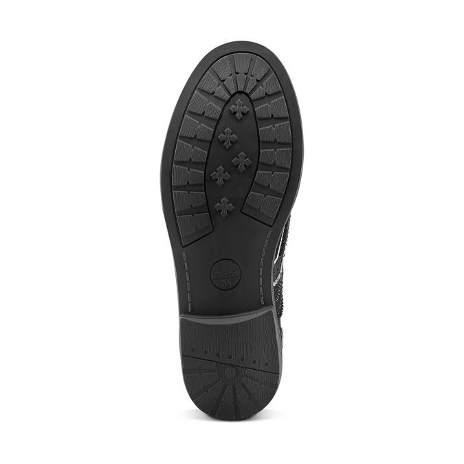 Childrens shoes mini-b, Noir, 321-6201 - 17
