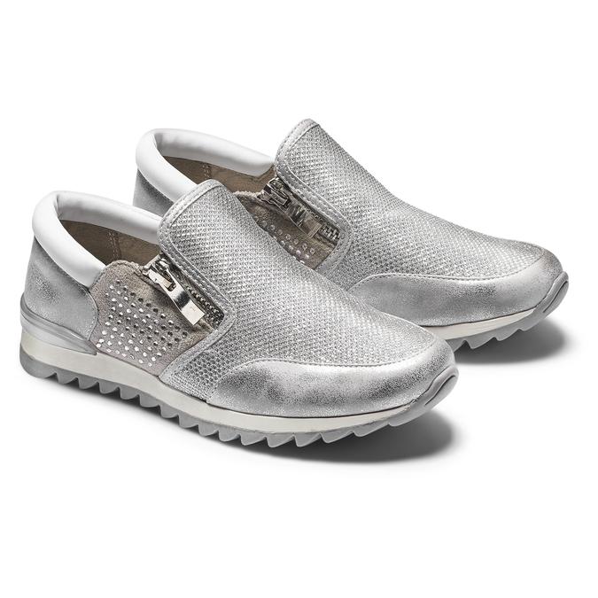 Childrens shoes mini-b, Blanc, 329-1298 - 19
