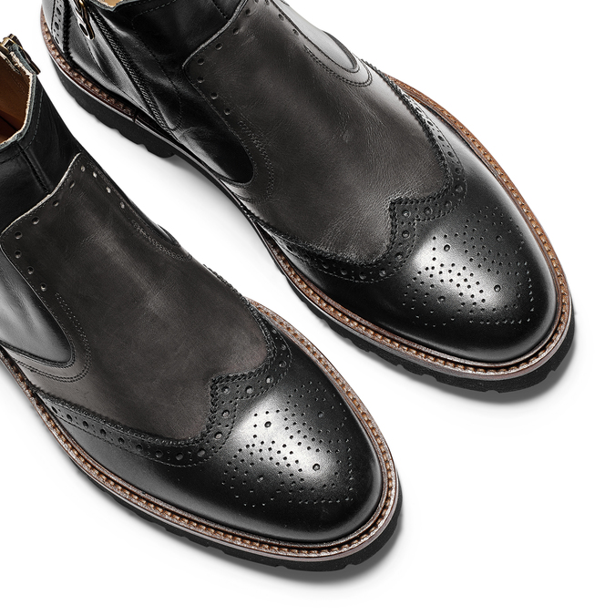 Men's shoes bata-the-shoemaker, Noir, 894-6735 - 19