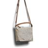 Sac à main en cuir dans le style Hobo bata, Gris, 963-2130 - 17