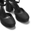 Women's shoes insolia, Noir, 729-6971 - 15