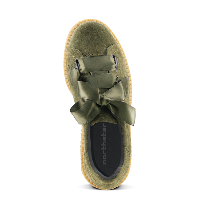 Women's shoes north-star, Vert, 523-7484 - 15
