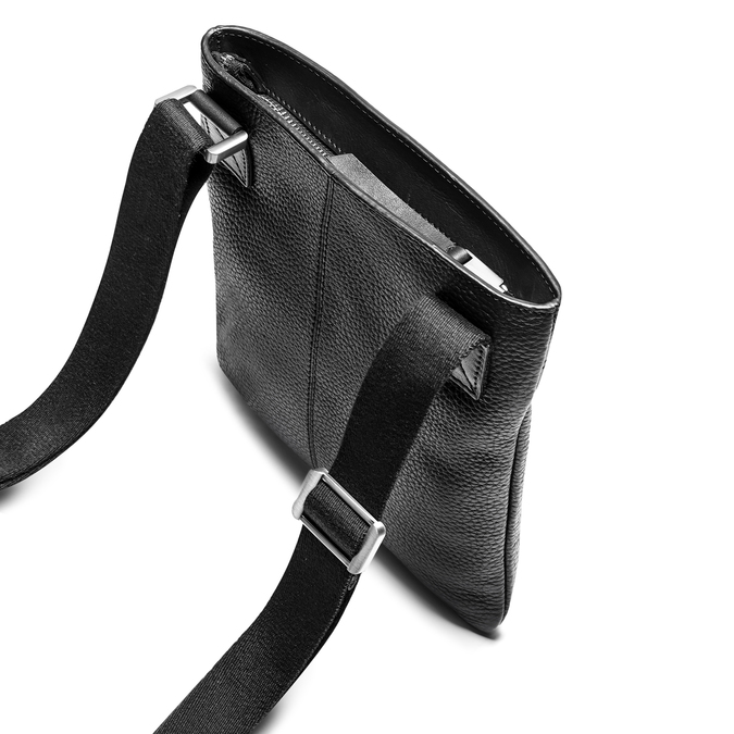 Cross body en cuir bata, Noir, 964-6131 - 17