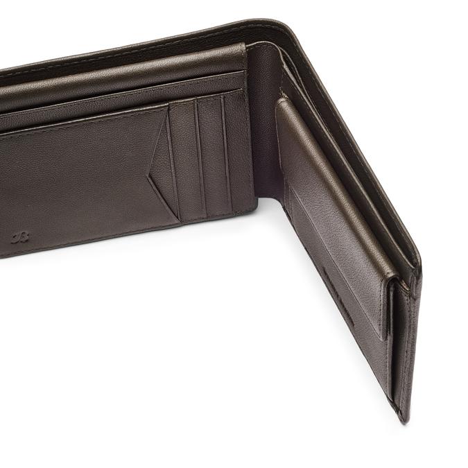 Portefeuille en cuir pour homme bata, Brun, 944-4124 - 15