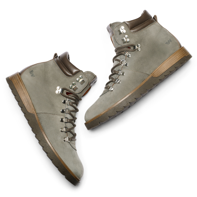 Men's shoes weinbrenner, Gris, 896-2139 - 19