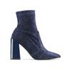 Women's shoes bata, Bleu, 799-9648 - 26