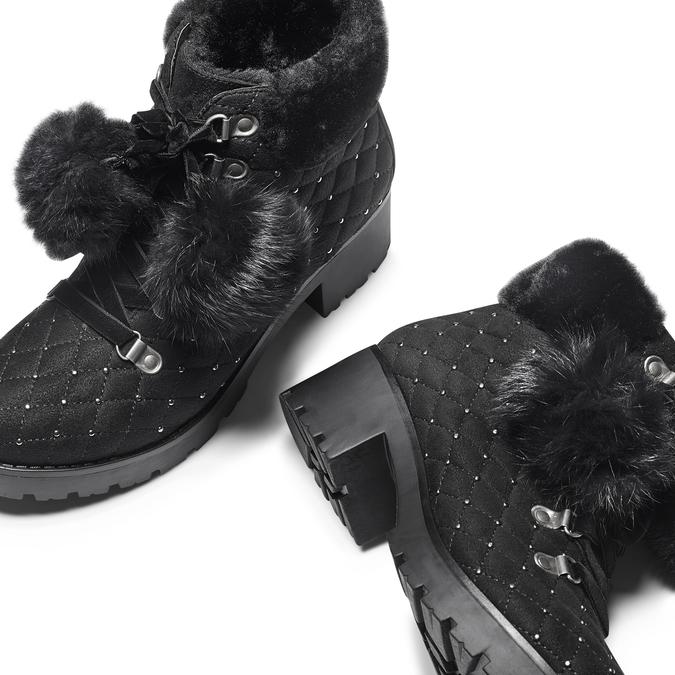 Women's shoes bata, Noir, 699-6100 - 19