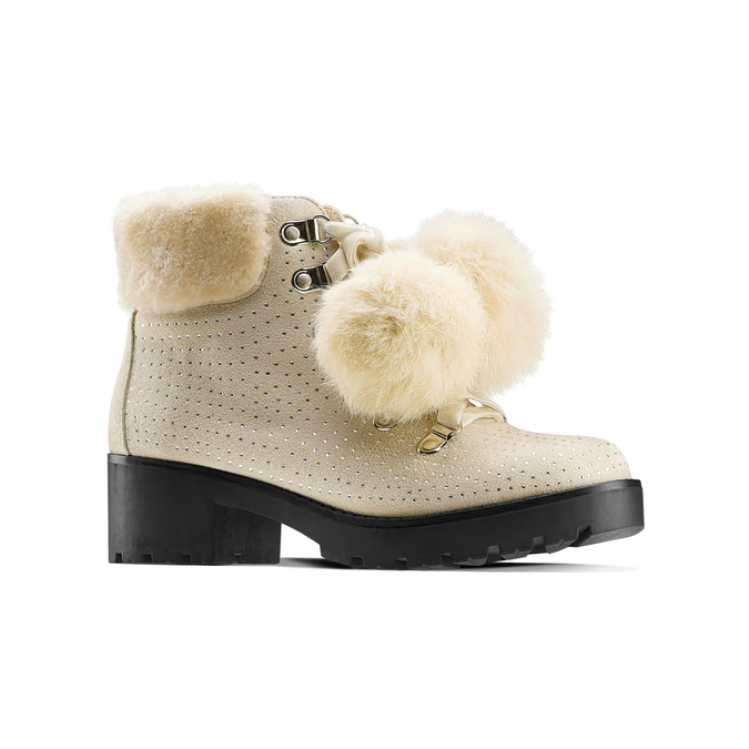 BATA Chaussures Femme bata, Jaune, 699-8119 - 13