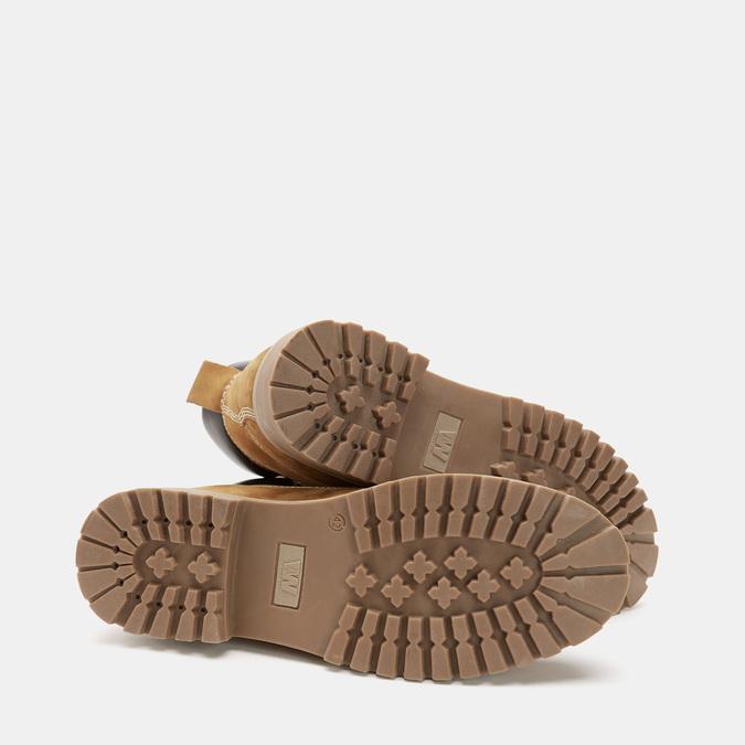 Men's shoes weinbrenner, Jaune, 896-8160 - 19