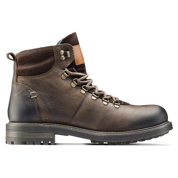Men's shoes bata, Brun, 894-4136 - 26