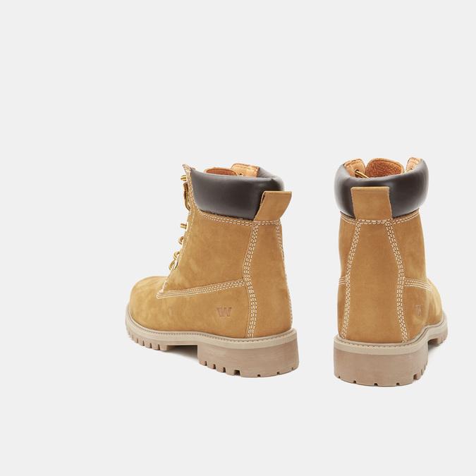 Men's shoes weinbrenner, Jaune, 896-8160 - 17