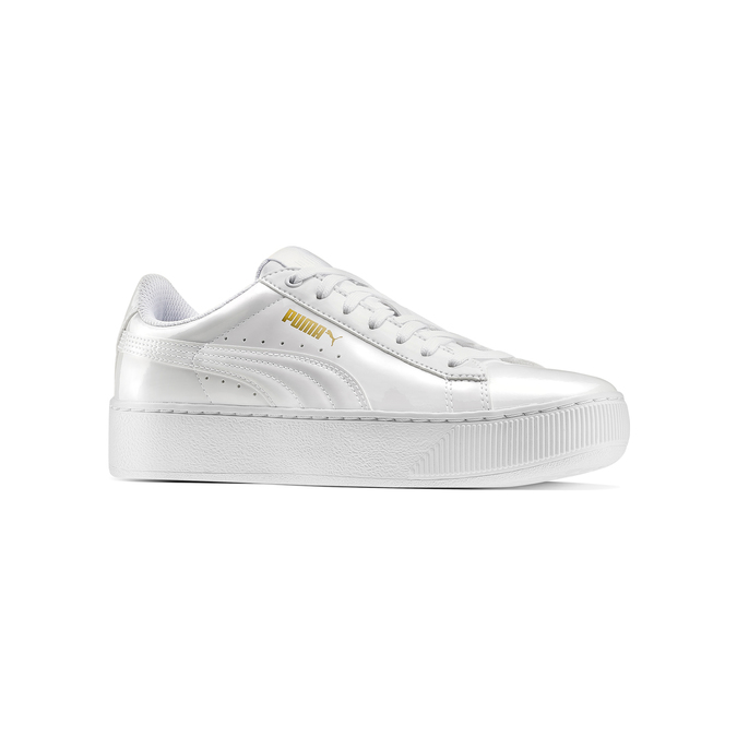 Childrens shoes puma, Blanc, 501-1159 - 13