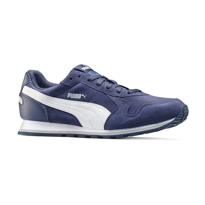 Childrens shoes puma, Bleu, 803-9982 - 13