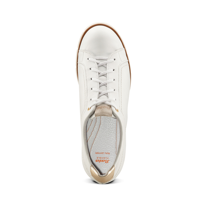 Women's shoes flexible, Blanc, 524-1199 - 17