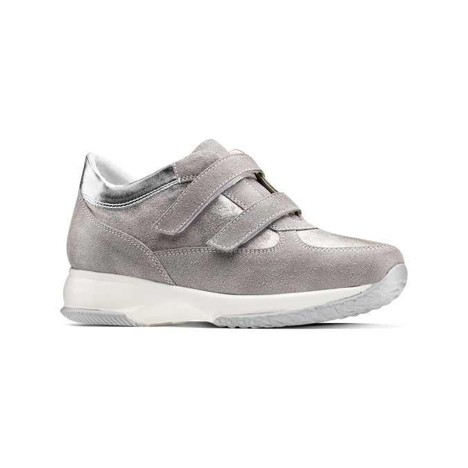 Women's shoes bata, Gris, 513-2202 - 13
