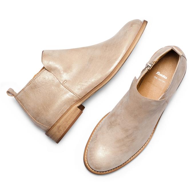 Women's shoes bata, Jaune, 593-8703 - 26
