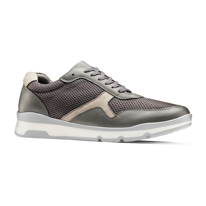 Men's shoes bata, Gris, 849-2145 - 13