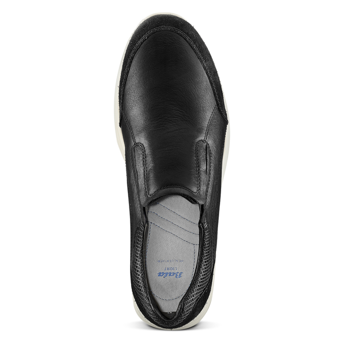 Men's shoes bata-light, Noir, 834-6162 - 15