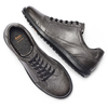 Men's shoes flexible, Gris, 844-3709 - 19