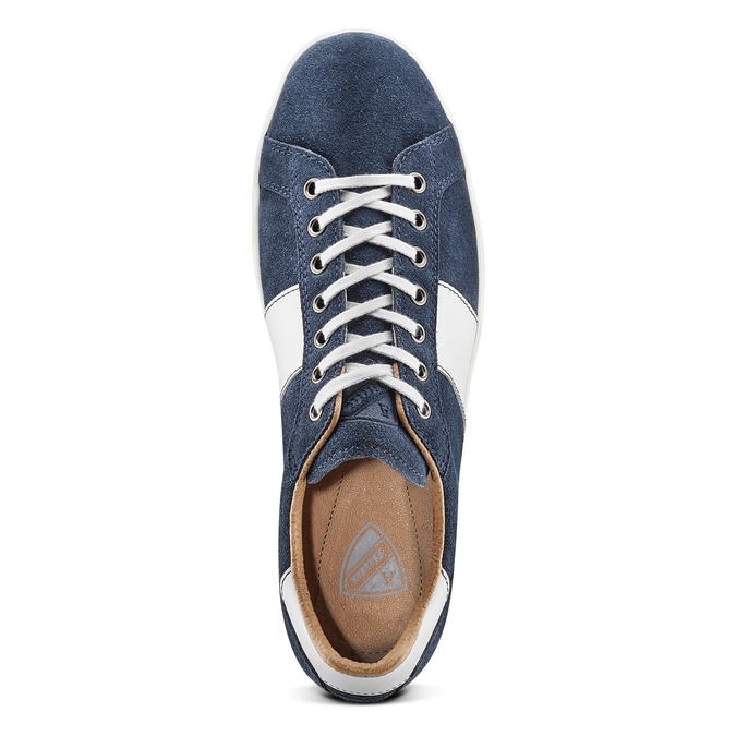 Men's shoes, Bleu, 843-9157 - 15