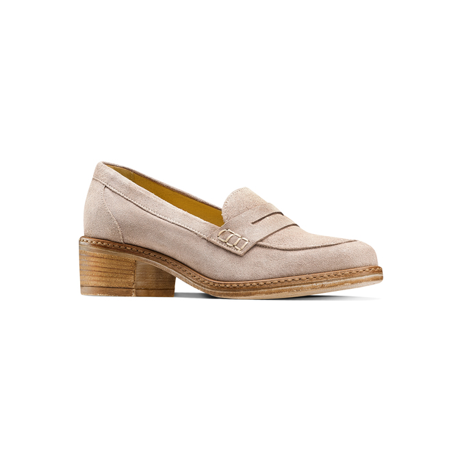 Women's shoes bata, Jaune, 613-8129 - 13