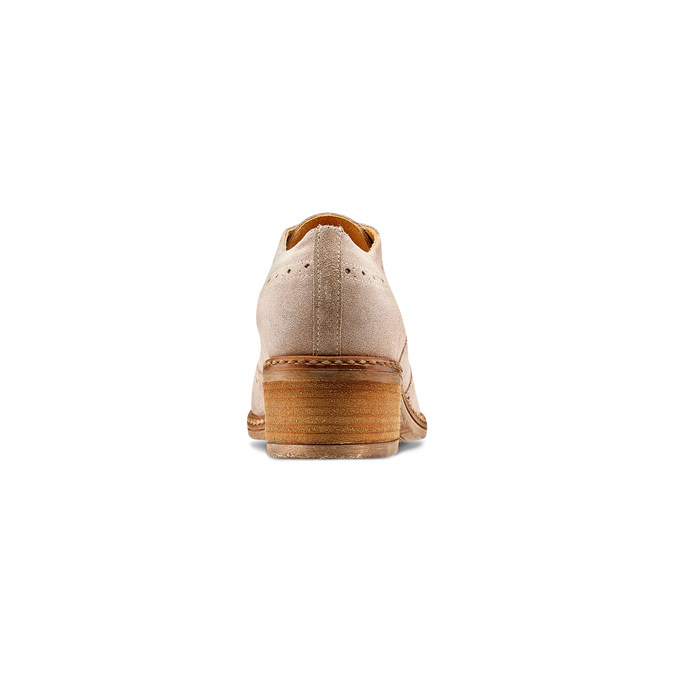 Women's shoes bata, Jaune, 623-8157 - 15