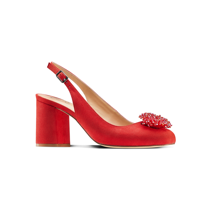 Women's shoes insolia, Rouge, 729-5216 - 13