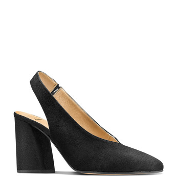 Women's shoes bata, Noir, 723-6248 - 13