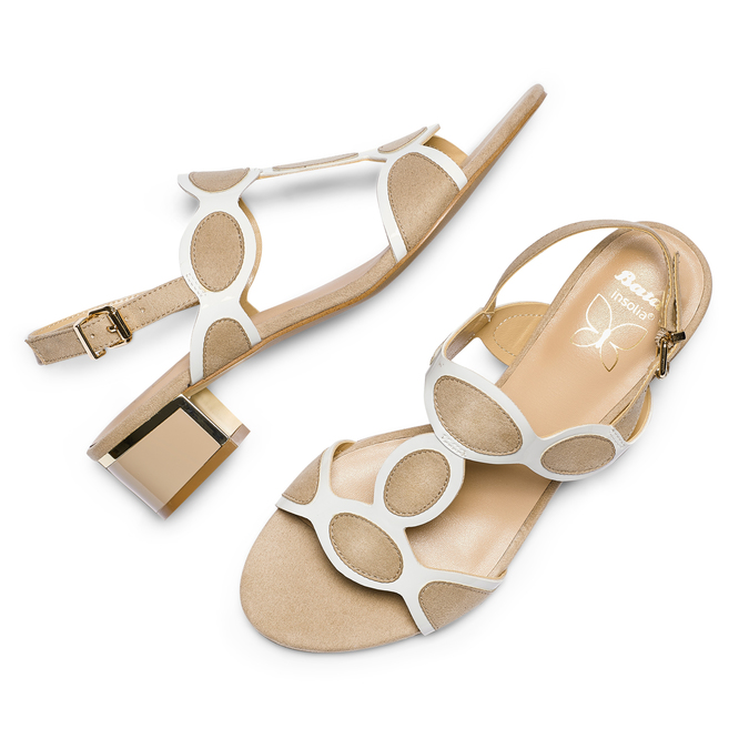 Women's shoes insolia, Jaune, 669-8297 - 26