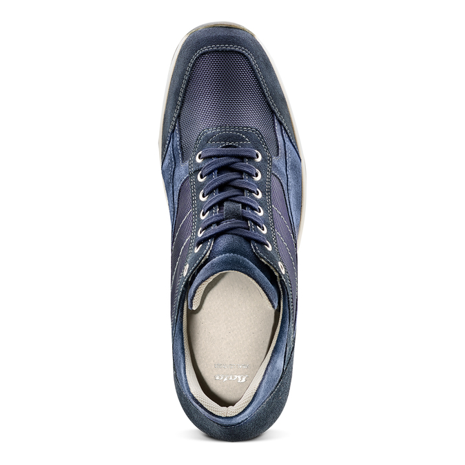Men's shoes bata, Bleu, 849-9162 - 17