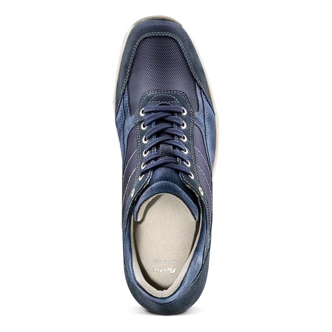 Men's shoes bata, Violet, 849-9162 - 17