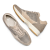 Men's shoes bata, Beige, 849-8162 - 26
