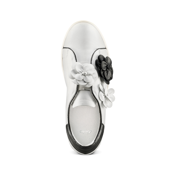 Women's shoes bata, Blanc, 544-1374 - 17