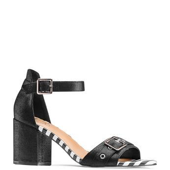 Women's shoes insolia, Noir, 769-6245 - 13