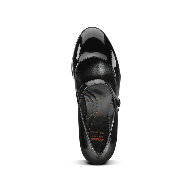 Chaussures Femme flexible, Noir, 621-6220 - 15