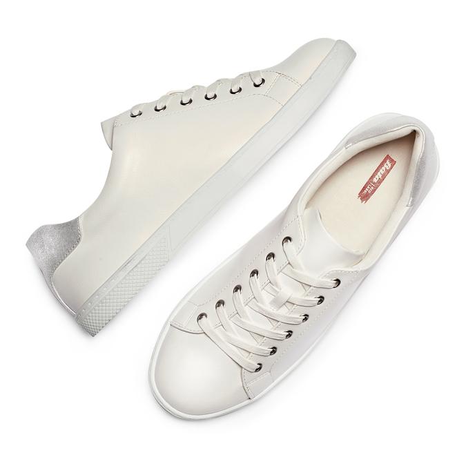 Women's shoes, Blanc, 529-1322 - 26